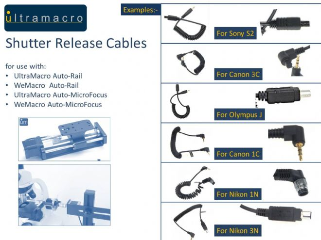 Shutter Release Cables